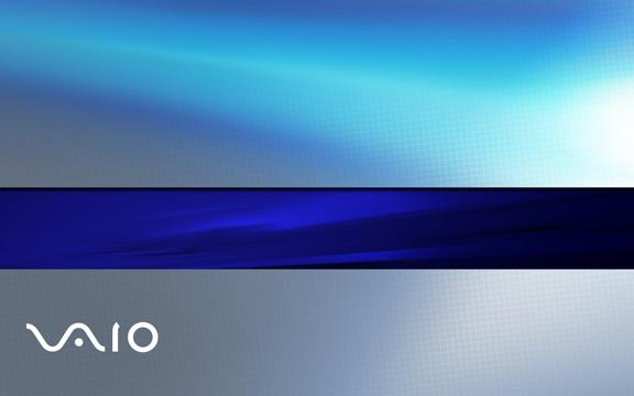blue vaio logo