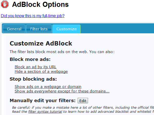 Block Infolinks on Google Chrome