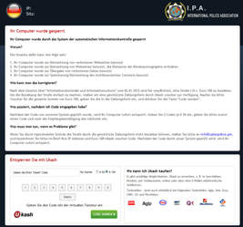 International Police Association Ransomware