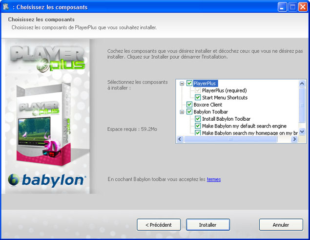 Playerplus Babylon Boxore