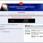 Canadian Secuirity Intelligence Service