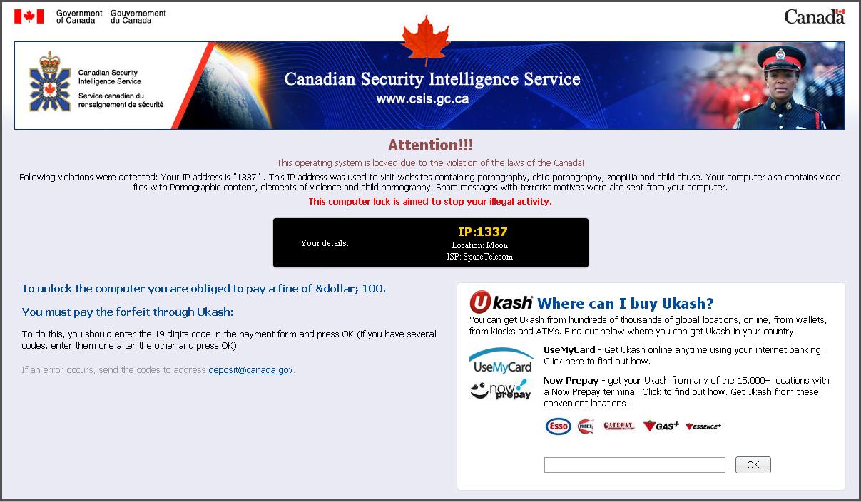 Canadian Secuirity Intelligence Service