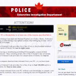 Canda Police Cybercrime Investigation Department Ransomware