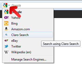 Claro Search Malware