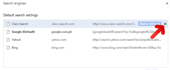 Claro Search Search Engine Google