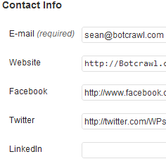 How To Add Facebook, Twitter, LinkedIn, And Google Plus To WordPress User Profiles (Custom Contact Info)