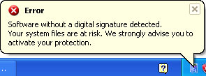 Error Digital Signature Windows Ultimate Safeguard