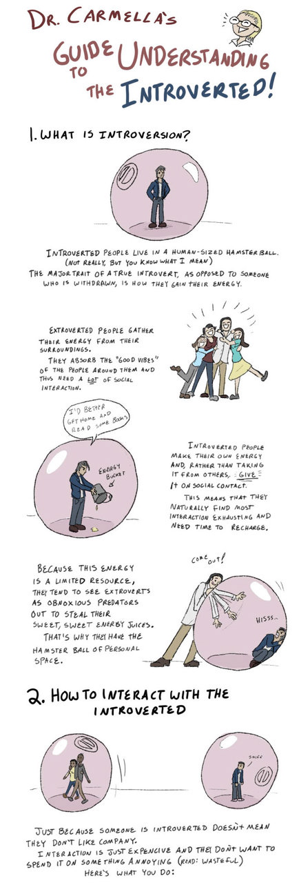 Guide to understanding the introverted part 1
