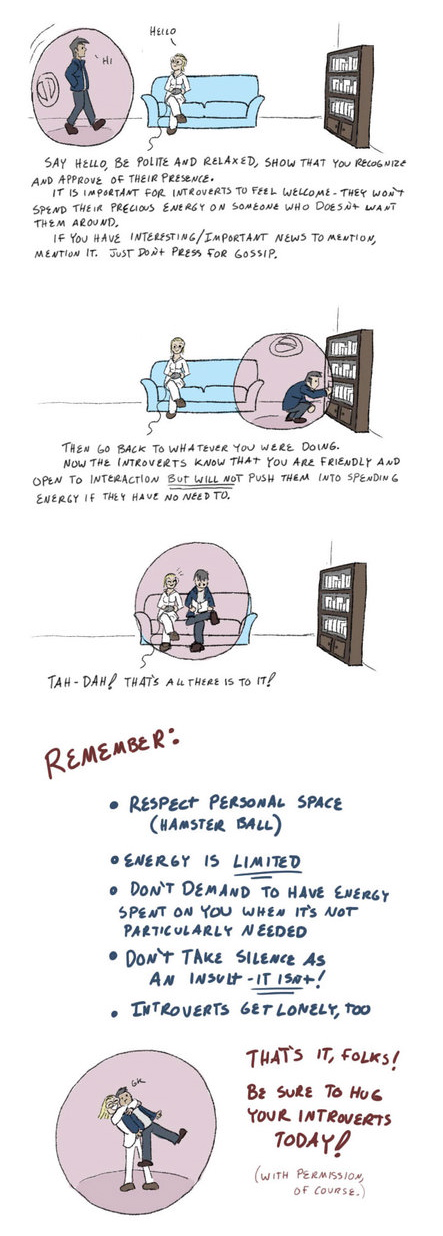 Guide to understanding the introverted part 2