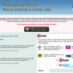 Metropolitan Police Central e-crime Unit Ransomware