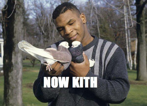 Mike Tyson Now Kith Birds Meme