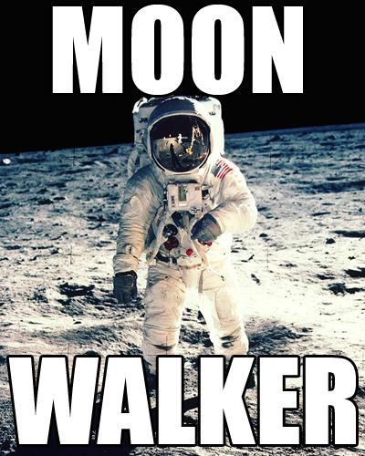 Neil Armstrong Moonwalker