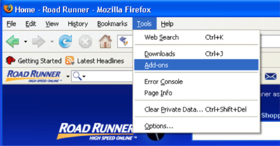 Road Runner Firefox Add On