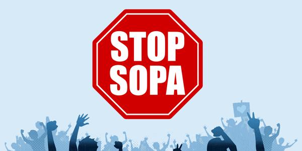 STOP SOPA takedowns
