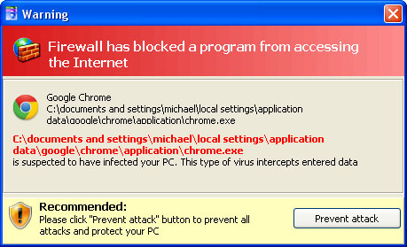 Windows Ultimate Safeguard Firewall Block Google Chrome