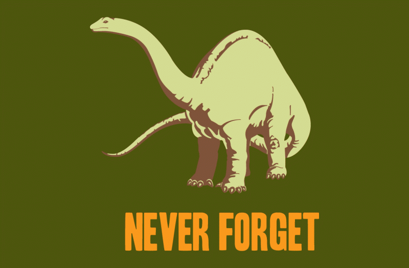 Never Forget The Dinosaurs -545,000,000 to -65,000,000 | Malware ...