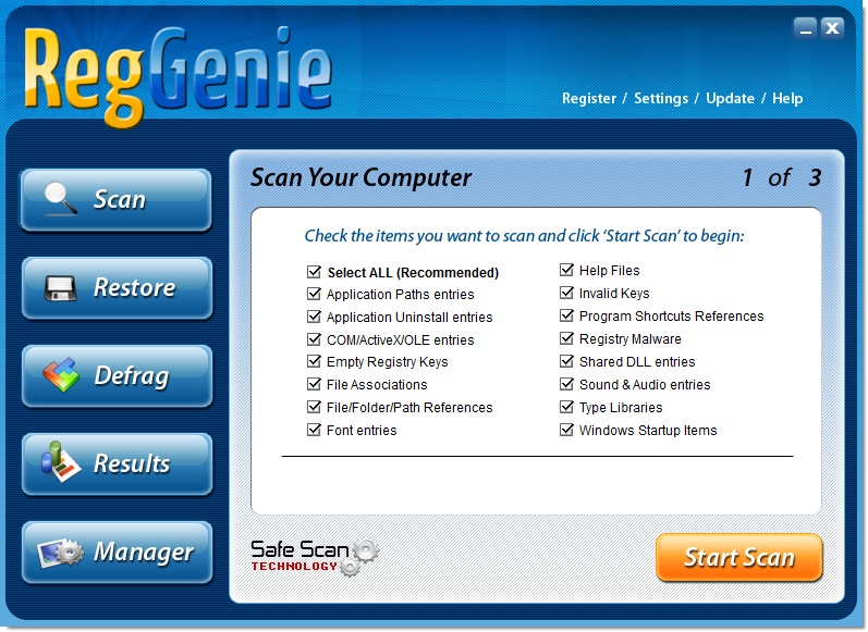 How to remove RegGenie (Virus Removal Guide)
