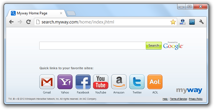 Search MyWay Virus