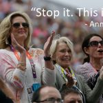 Stop it. This is hard. - Ann Romney (Quote)
