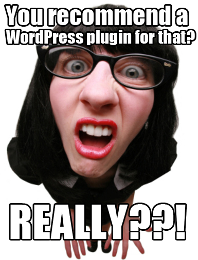 You recommend a WordPress plugin for that