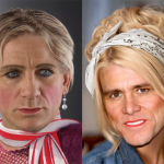 Daniel Craig And Jim Carrey Photoshopped As Women