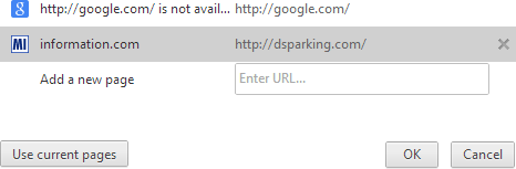 Dsparkng Google Chrome Remove