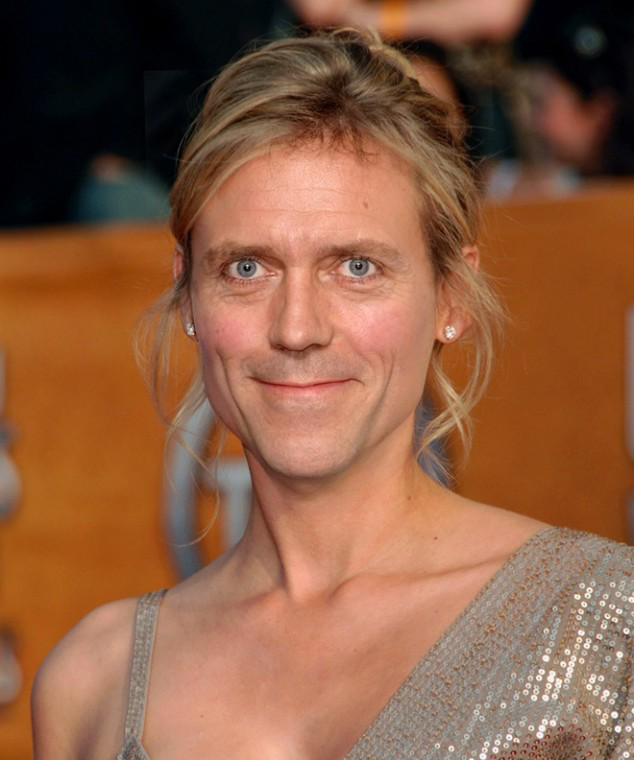 Hugh Laurie Photoshopped As A Woman