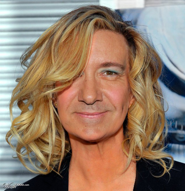 Kevin Spacey Photoshopped As A Woman