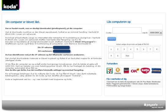 Koda Virus Removal Instructions