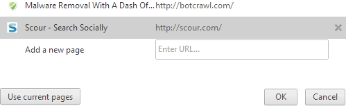 Remove Scour Home Page