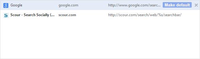 Remove Scour.com Search Engine