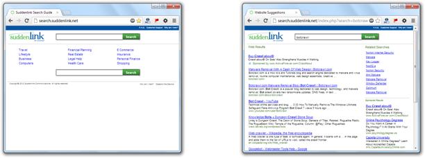 Remove Search Suddenlink