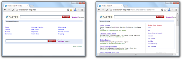 Search-Help.net Virus