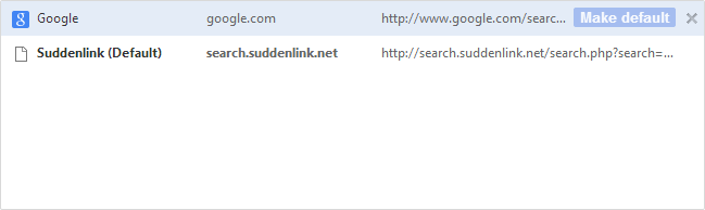 Stop Search.Suddenlink Redirect
