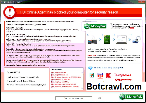 How to remove FBI virus (Ransomware Removal Guide) - Botcrawl