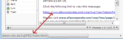 Fake EFaxCorporate Email Spam