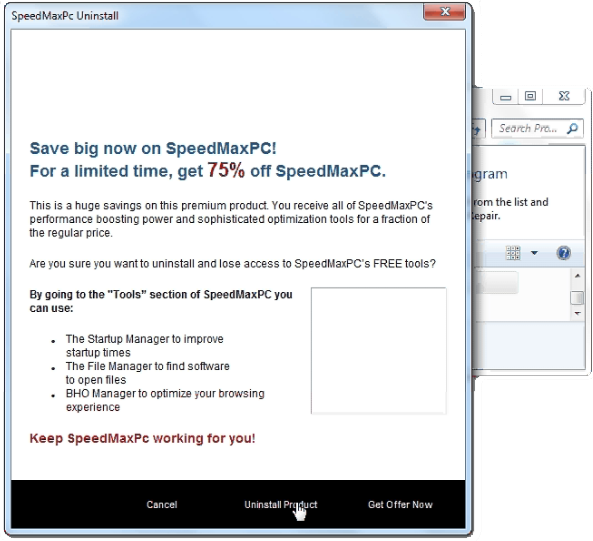 How To Uninstall SpeedMaxPc