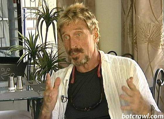 John McAfee Wanted For Murder