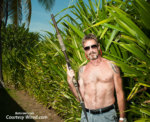 John McAfee Wired