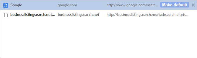 Remove Business Listing Search Engine