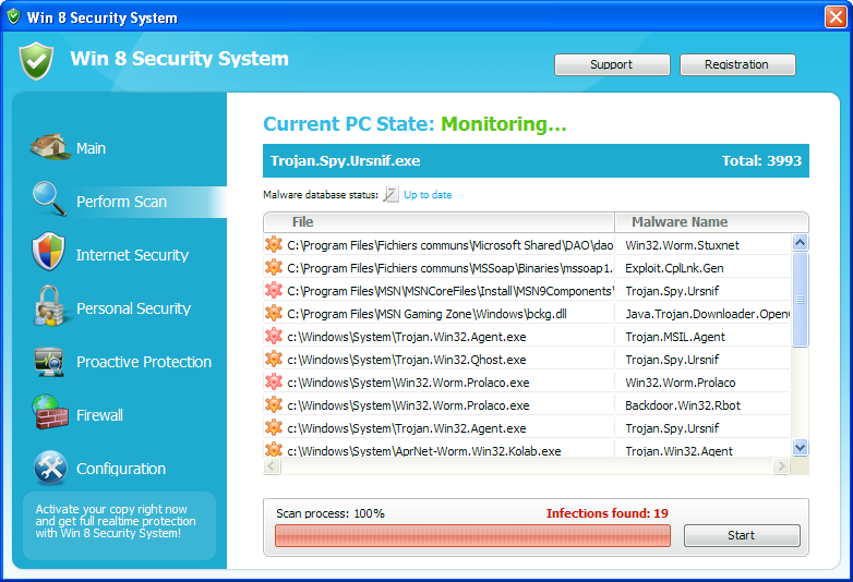 Remove Win 8 Security System Virus
