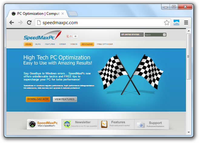 SpeedMaxPC Scam