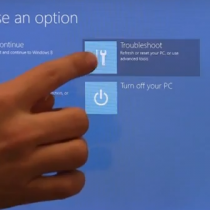 Troubleshoot (Windows 8)