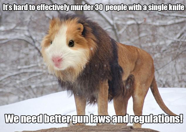 Better gun laws animal meme
