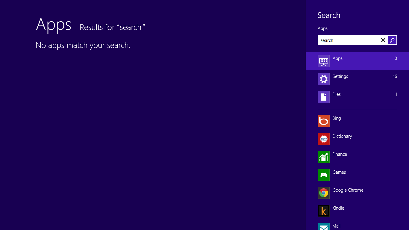 How To Search On Windows 8