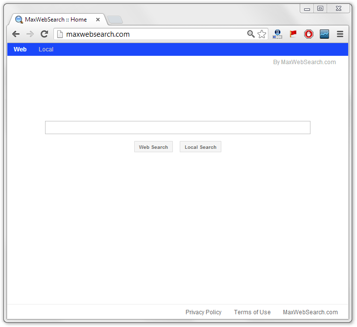 Maxwebsearch Virus