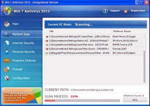Remove Fake Win 2013 Antivirus