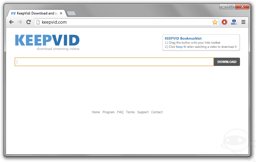 Remove Keepvid Virus