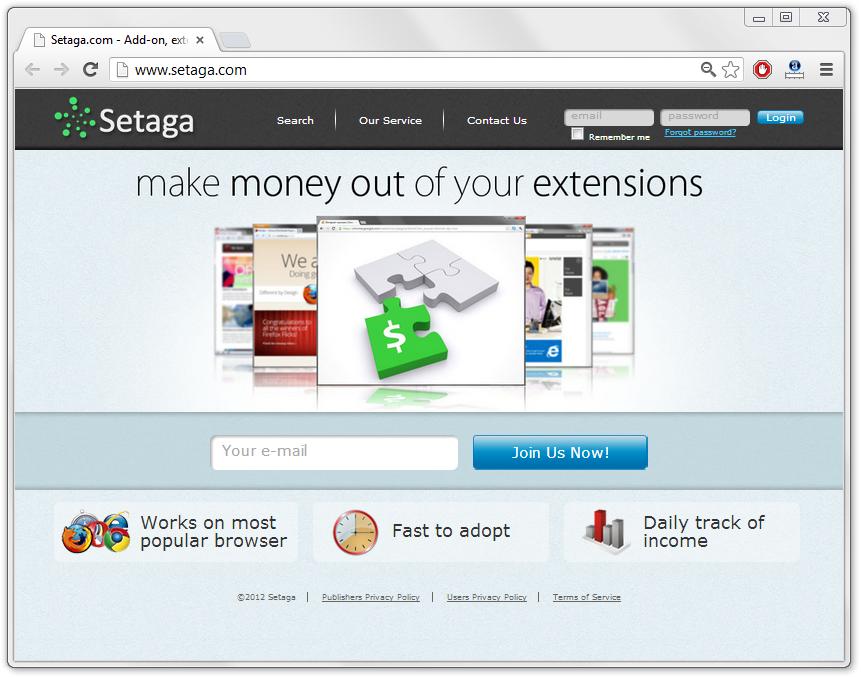 Remove Setaga Extensions
