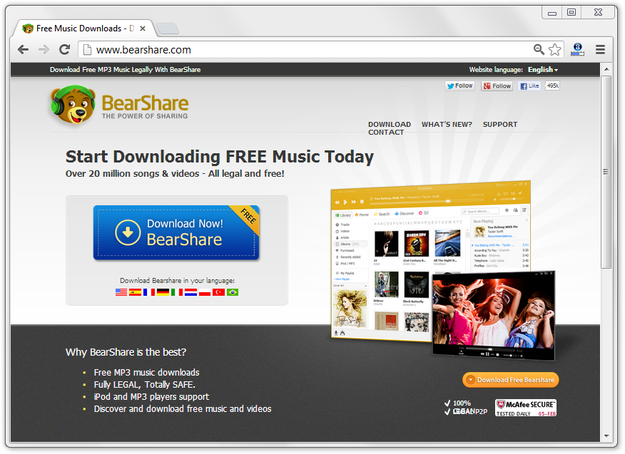 Remove BearShare